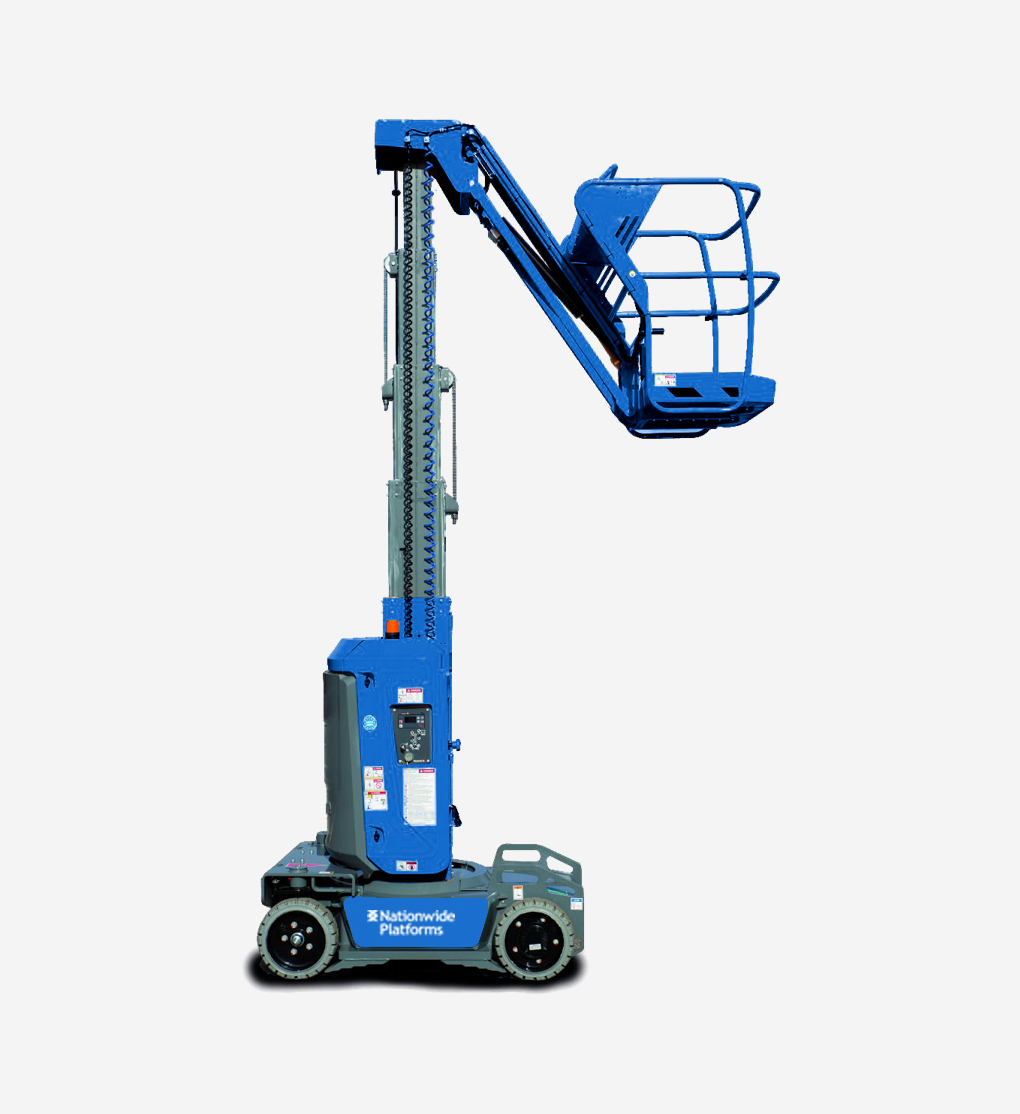 STAR10 - 10m Electric Mast Boom Lift