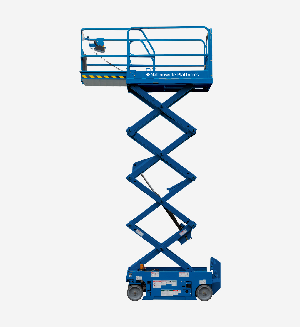 GS1932 - 7.8m Electric scissor lift