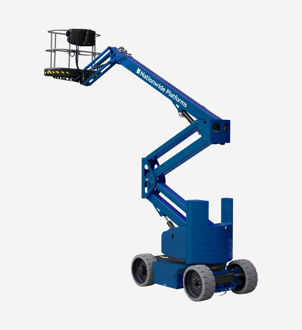 HR15NBS - 15.4m Bi Energy Boom Lift
