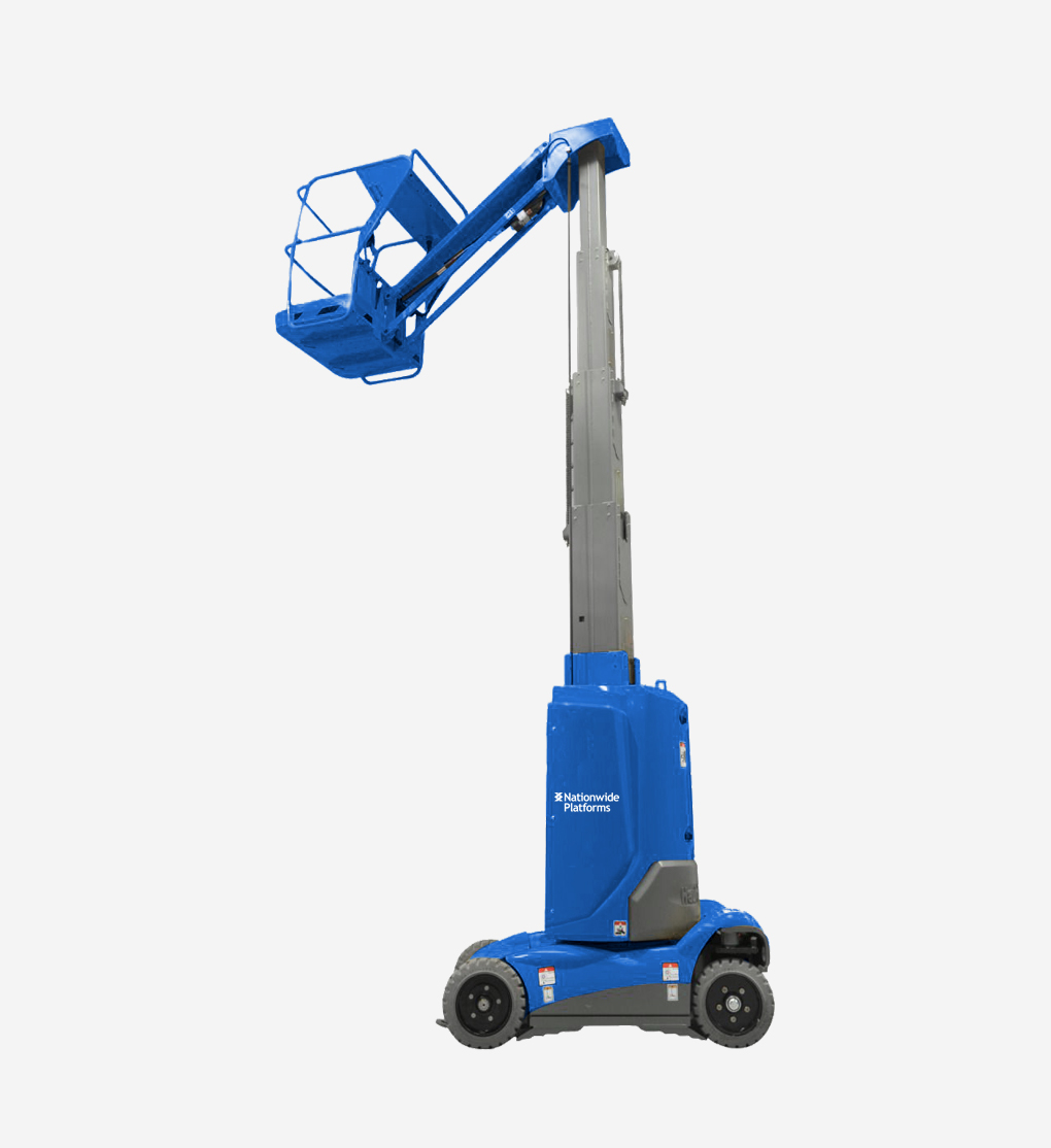 STAR10A - 10m Electric Mast Boom Lift
