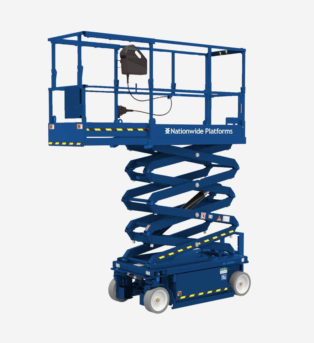 3219 - 7.8m Electric scissor lift