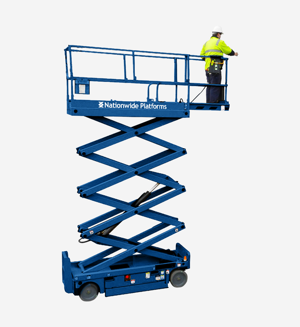 COM8 - 8.19m Electric Scissor Lift