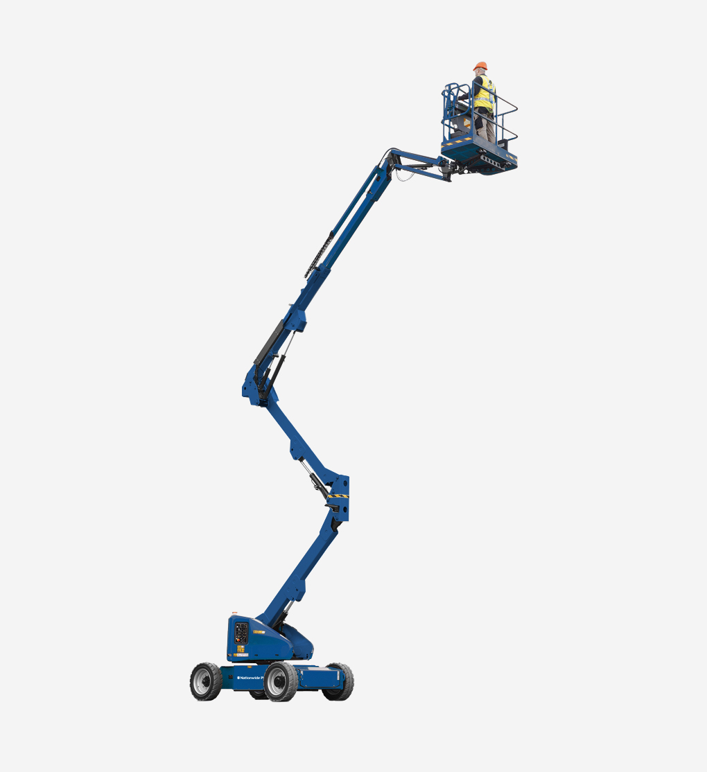 45MJ - 15m Bi-Energy Boom Lift
