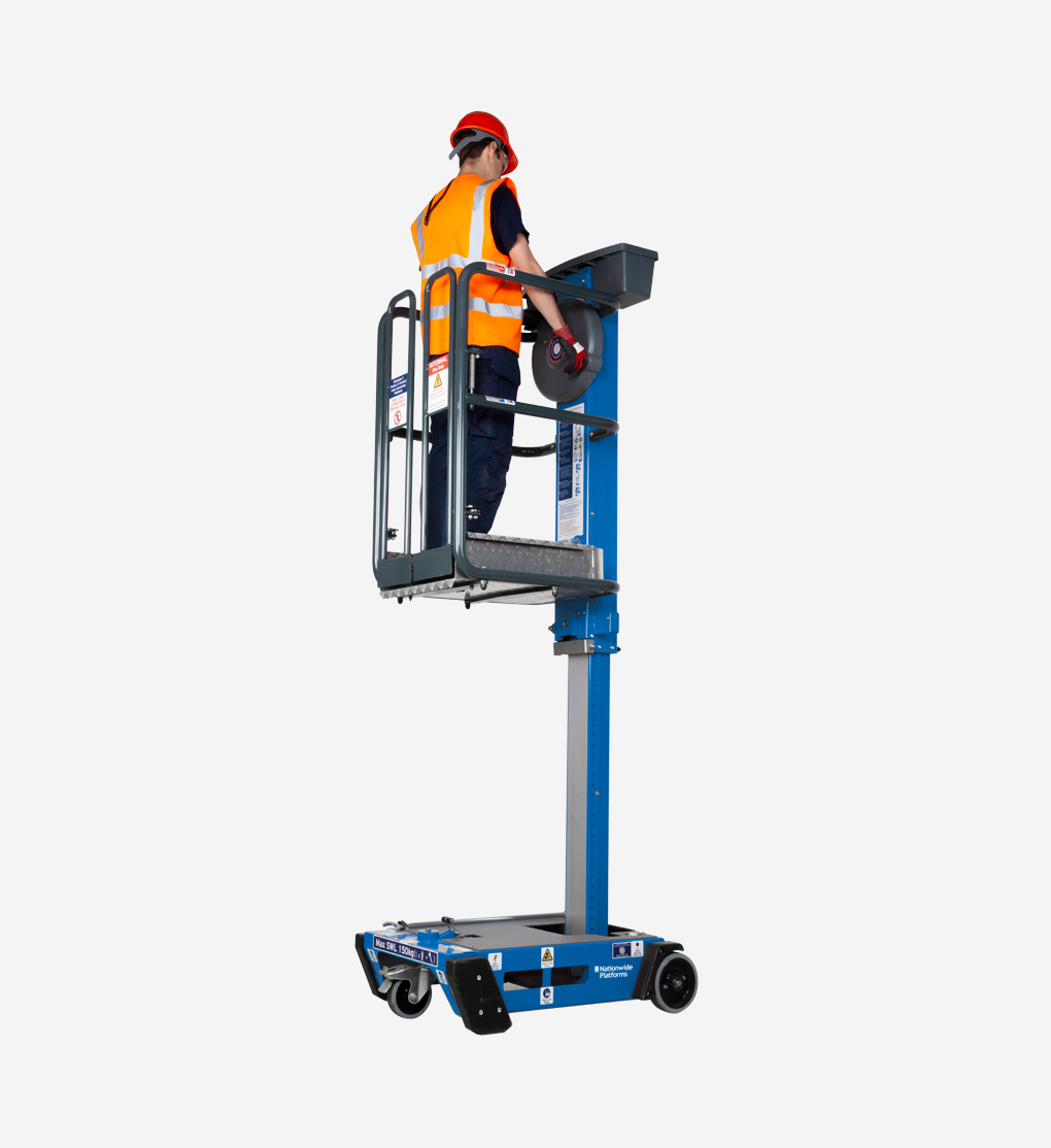 PECOLIFT - 3.5m Push around personnel lift
