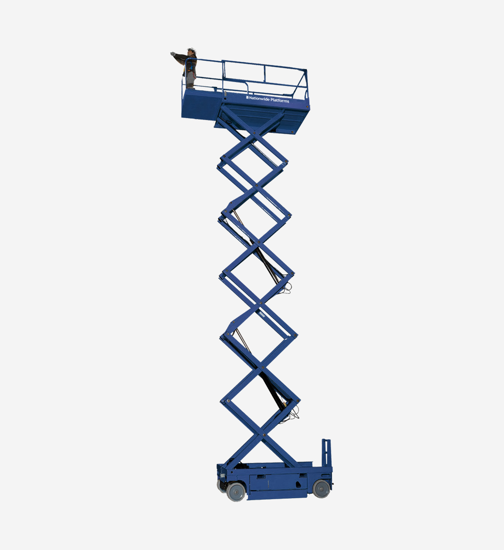 COM14 - 13.8m Electric scissor lift