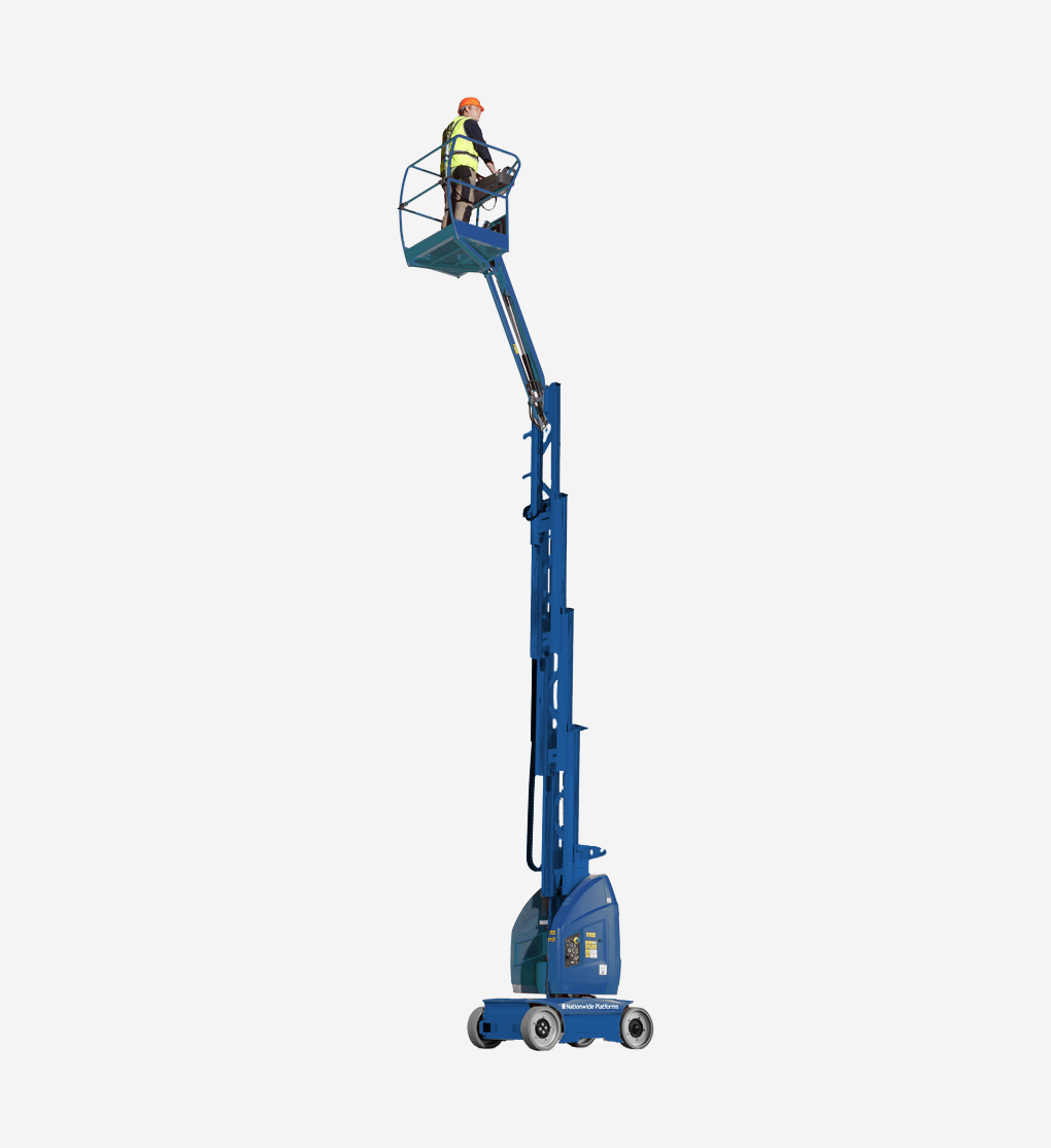 Toucan10E - 10m Electric Mast Boom Lift