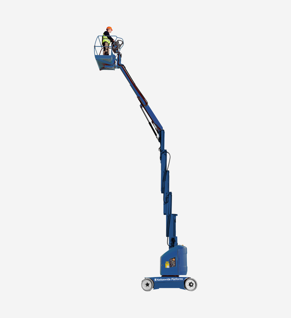 Toucan12E+ - 12m Electric Mast Boom Lift
