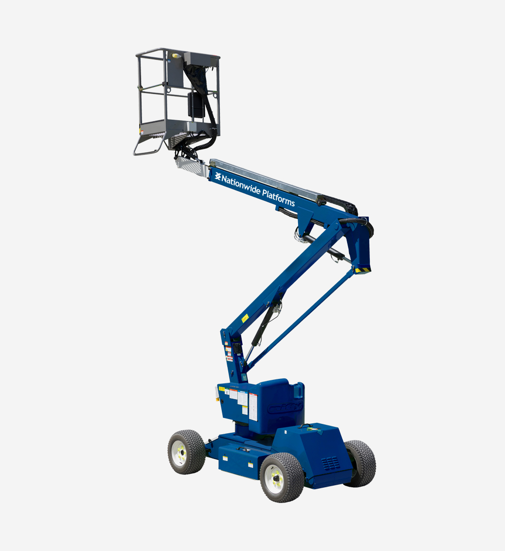 HR12NBS - 12.2m Bi Fuel Boom Lift