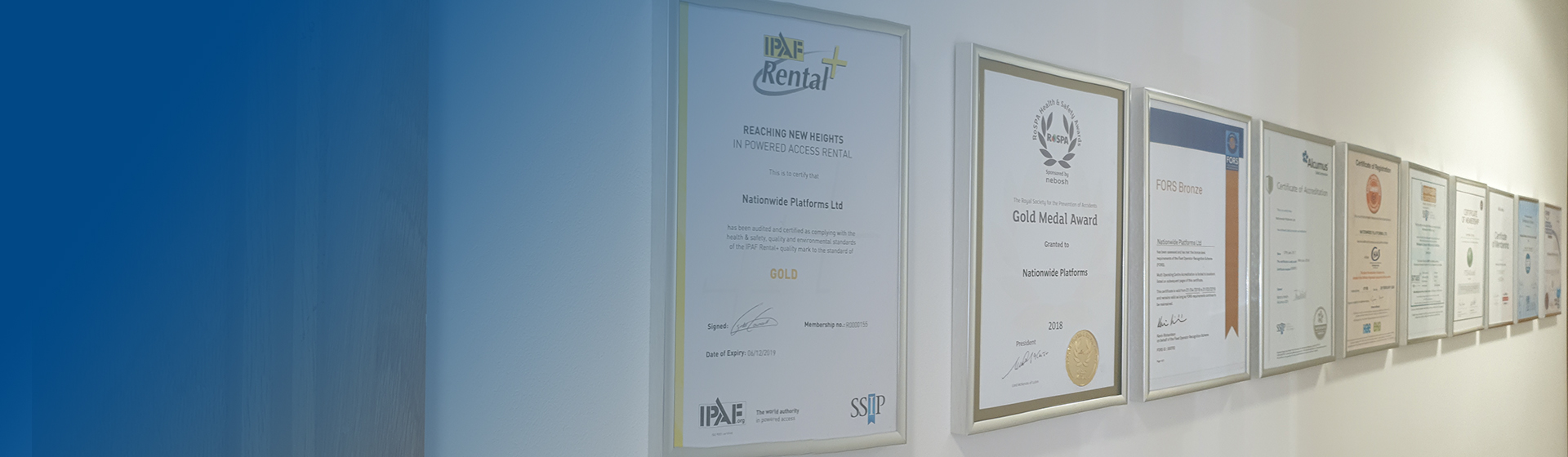 IPAF Rental+ enforces the Heightening of Standards in Powered Access Rental