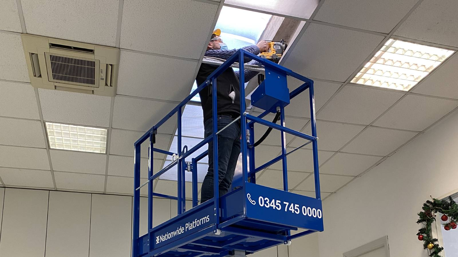 Nationwide Platforms invests in 20 innovative Bravi low level access platforms to accelerate fit-out work